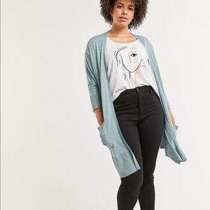 🆕Dolman sleeve cardigan with pockets Plus Sz 2X